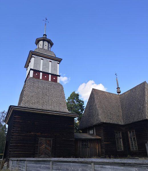 petajaveden vanha kirkko